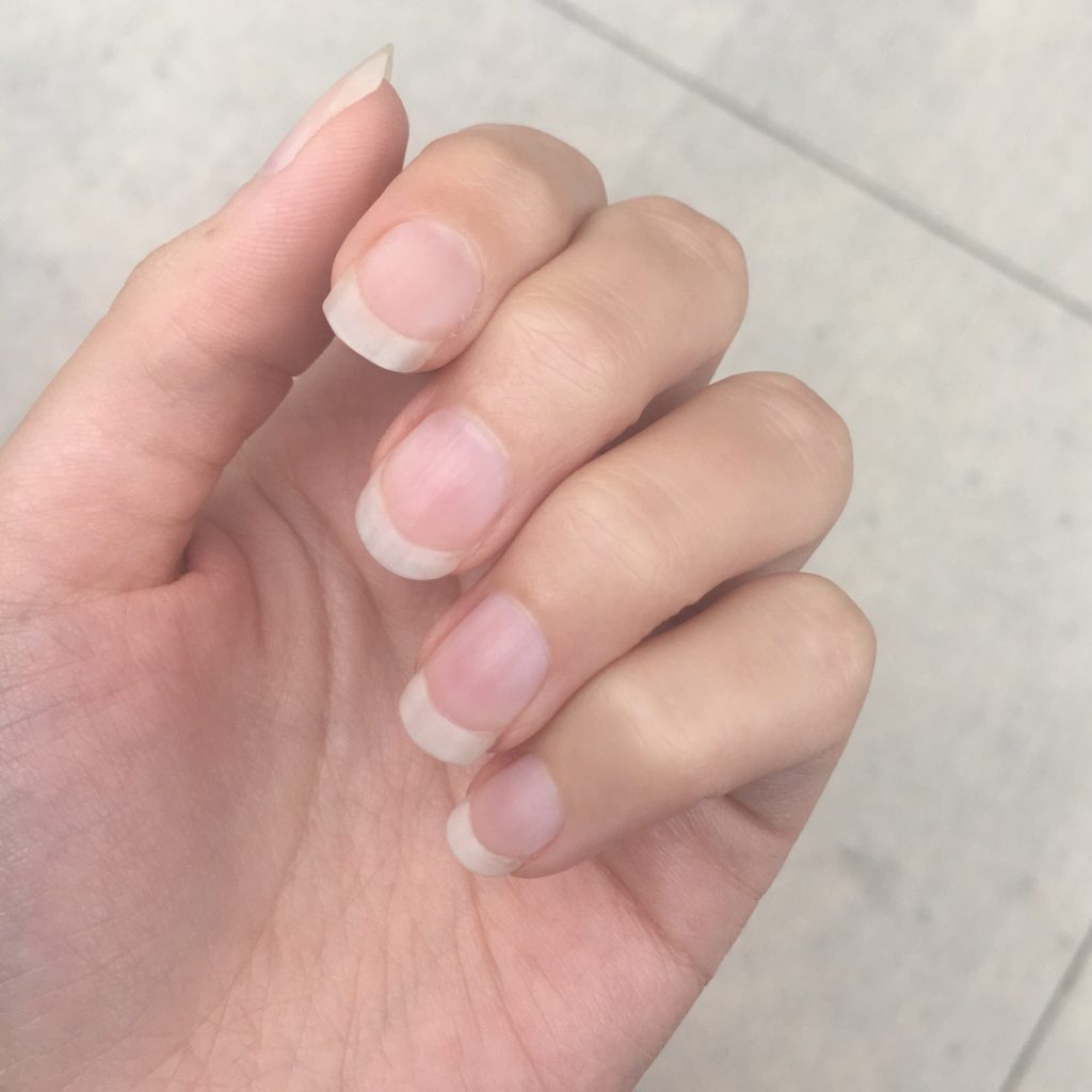 natural long nails