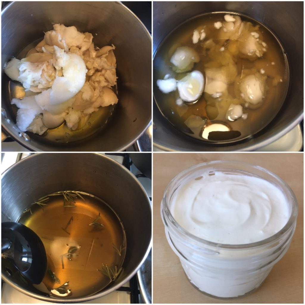 homemade whipped shea body butter