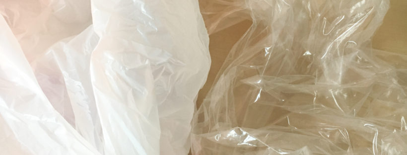 plastic bag closeup